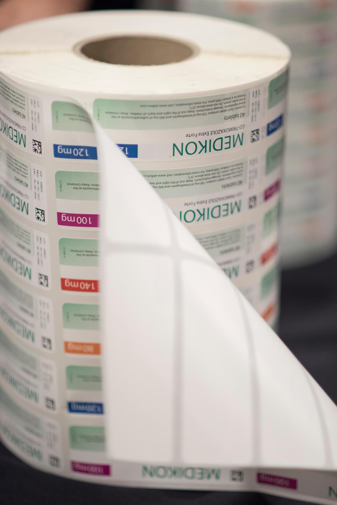 Pharma label print quality inspection, pharma Label PQ inspection, camera inspection system