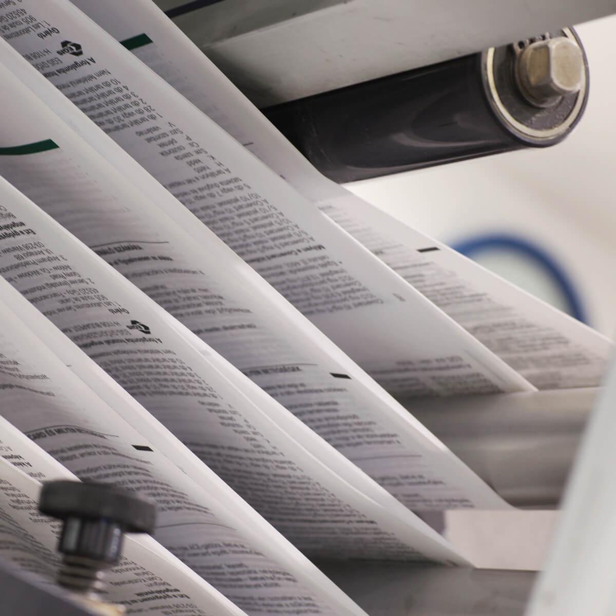 Pharma leaflet print quality, pharmaceutical leaflet verification, PDF compare
